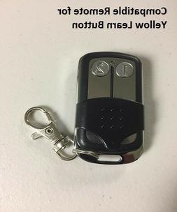 garage door opener key chain remote transmitter